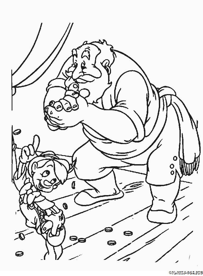 Guarda tutti i disegni da colorare di Pinocchio www.bambinievacanze ...