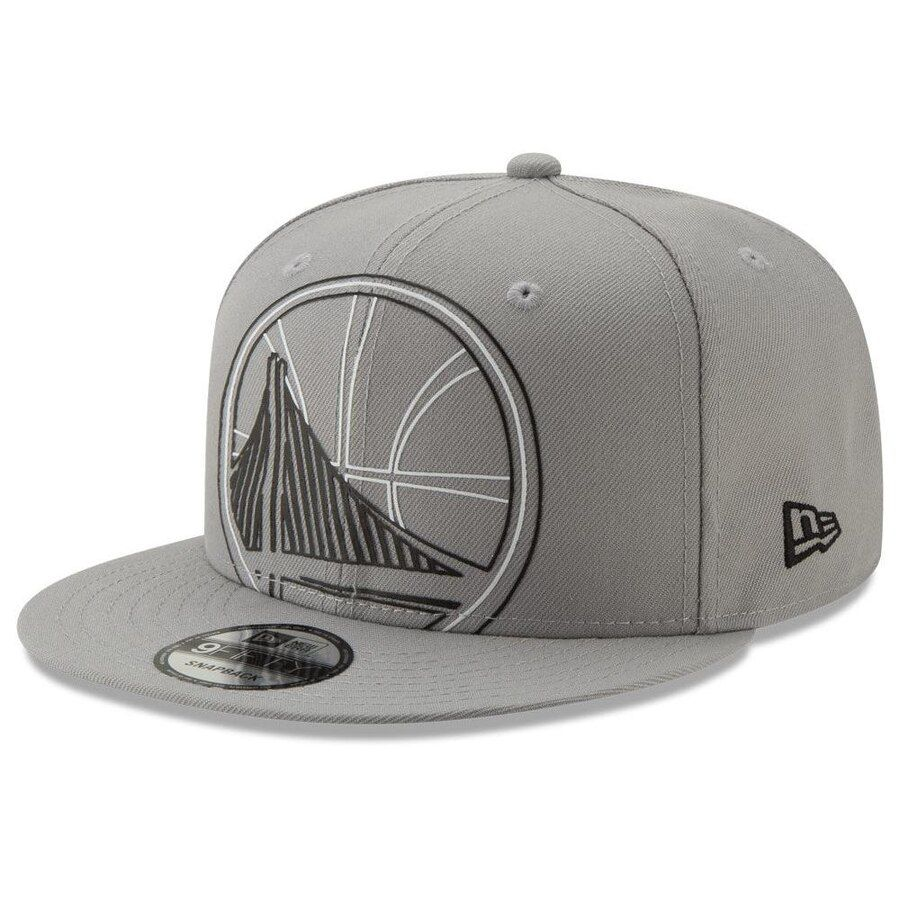 buy popular 25aa9 4a008 Golden State Warriors New Era Light It Up 9FIFTY Snapback Hat – Gray, Your