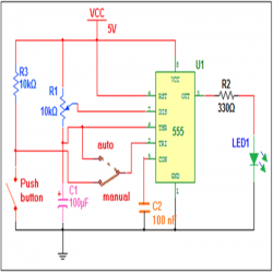 Fabulous Auto And Manual Pulse Generator Circuit Diagram Electronic Wiring 101 Vieworaxxcnl