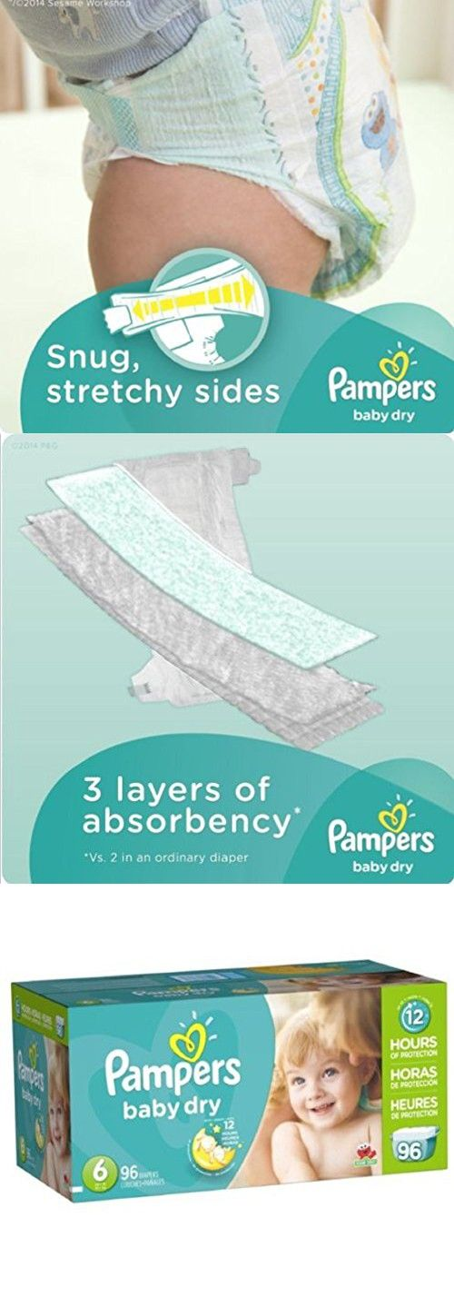 b35533bd7d4 Pampers Soft inside and out Baby Dry Diapers Giant Pack 3 layers drier