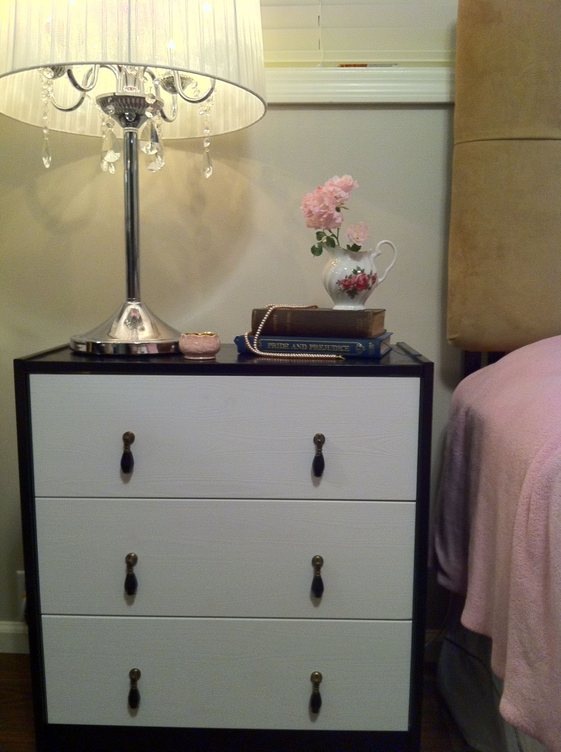 decor drawer pink lovely perfectly my fashion recycled accented the anthropologie pulls friend that chose beautifullyintended roses in furniture from