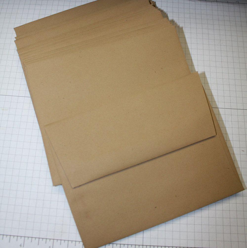 Brown Kraft Bubble Lite Padded Envelopes
