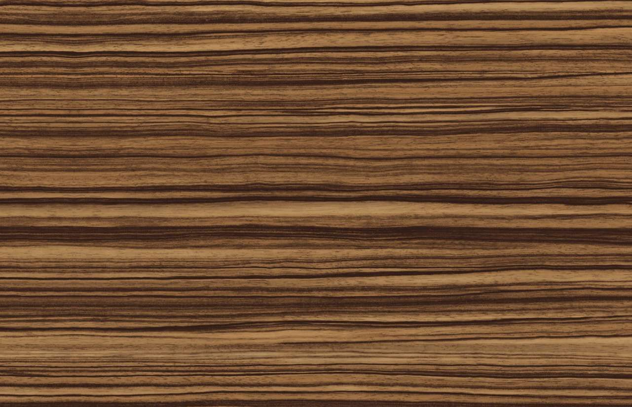 Zebrano wood veneer sheets
