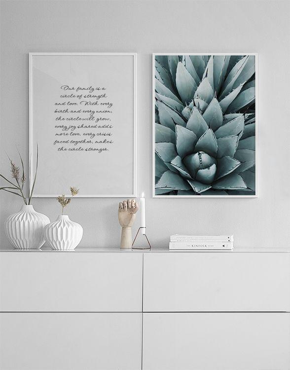 Agave Plakat Plakat Planter
