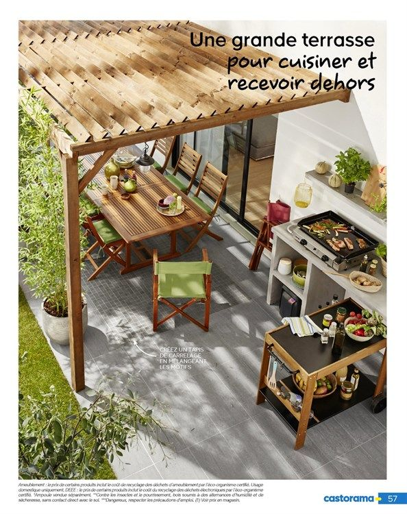 Catalogue De Promotions De Castorama Amenagement Jardin