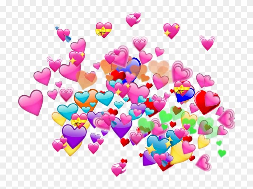 Heart Emoji Meme Background