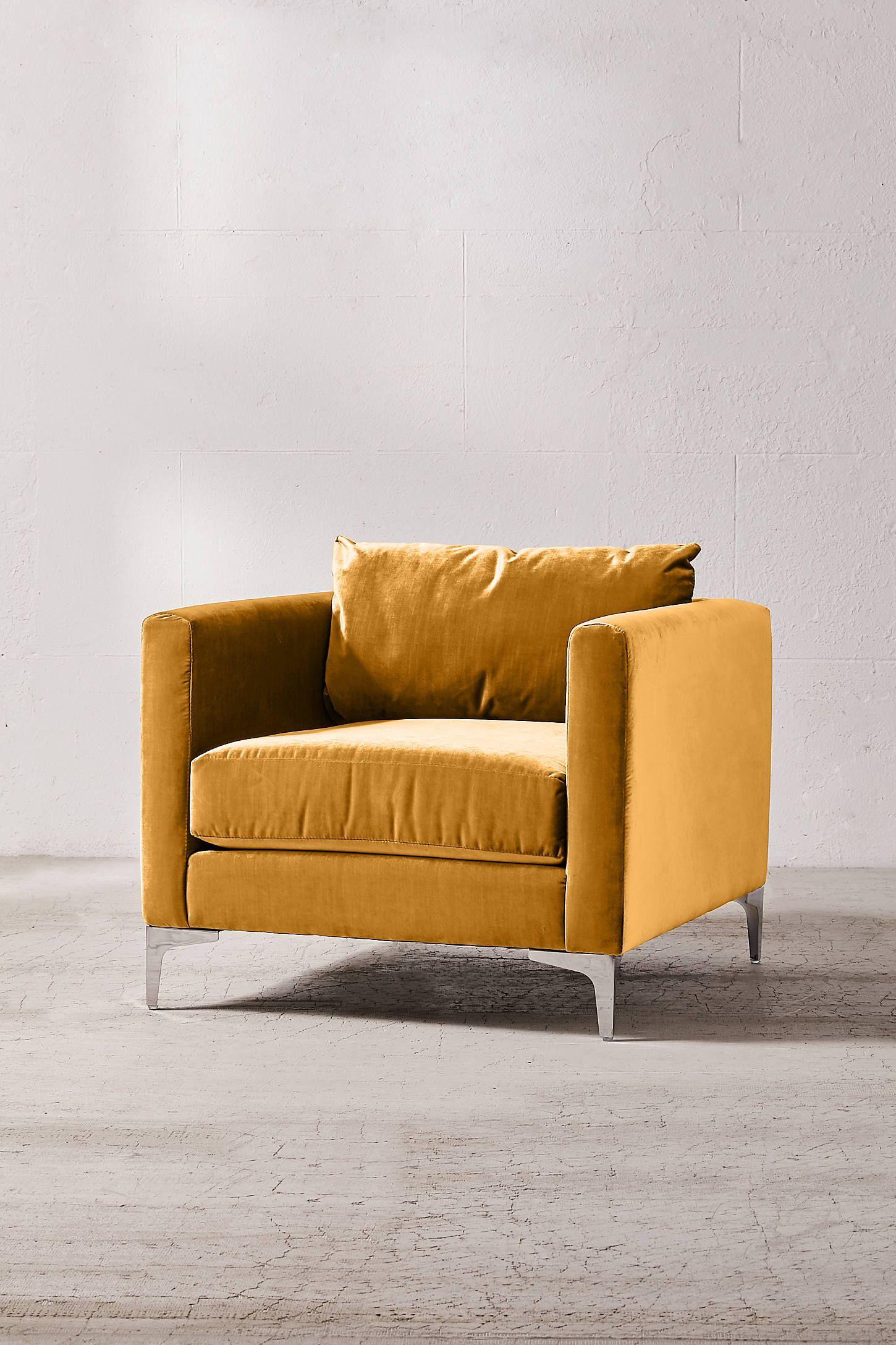 Chamberlin velvet chair in 2021 velvet chair chair