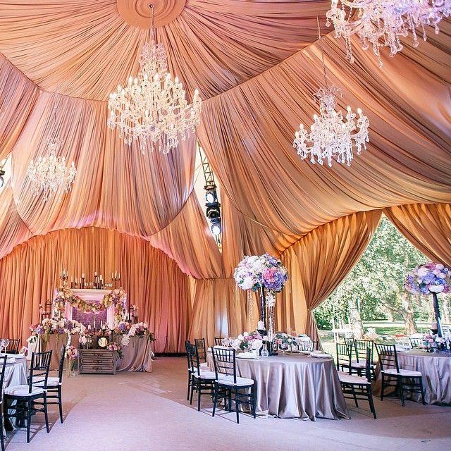 "@thebridestory's photo: ""Stunning tent wedding with ..."