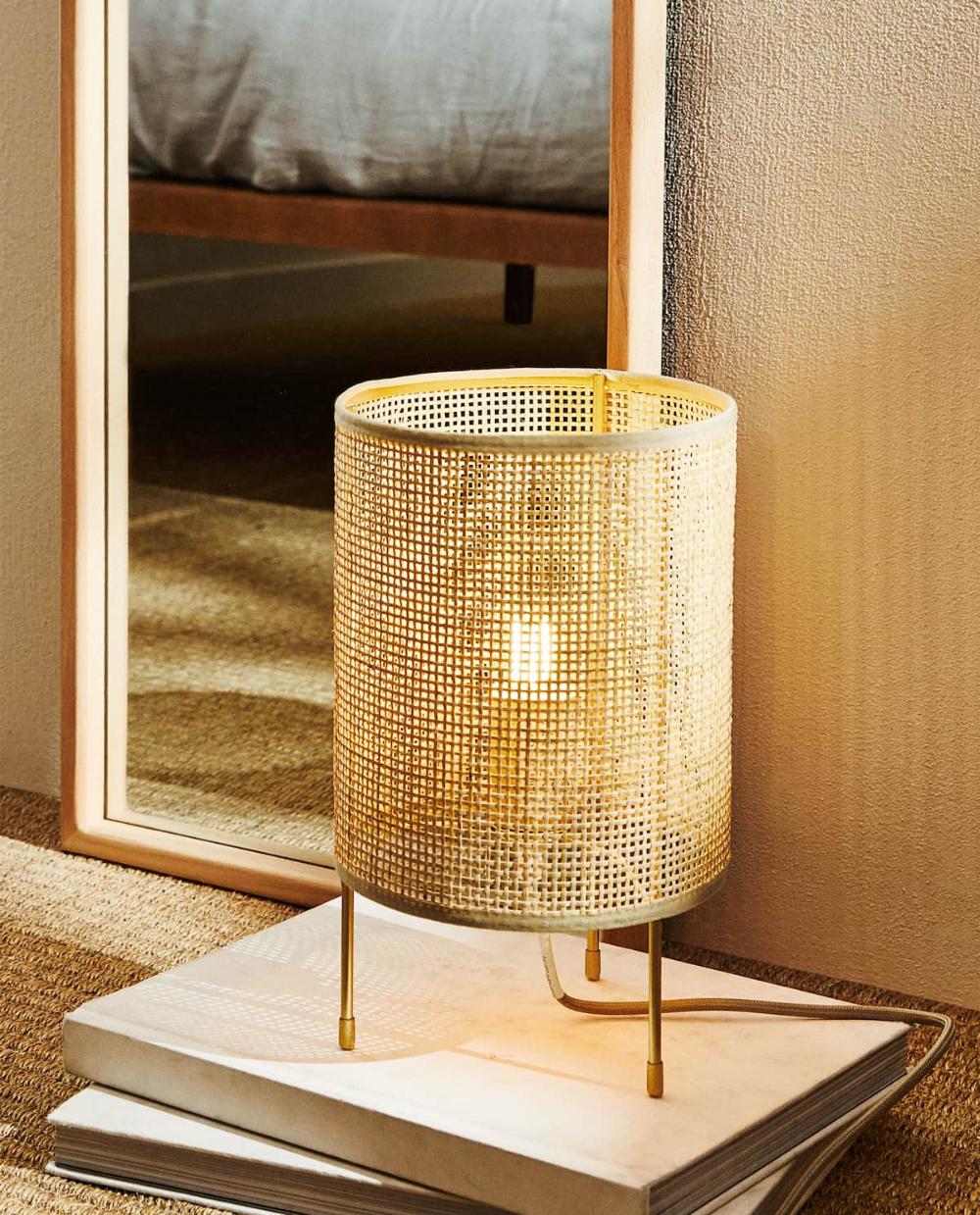Pin von 예지 손 auf Diy home decor in 23  Rattan lampe