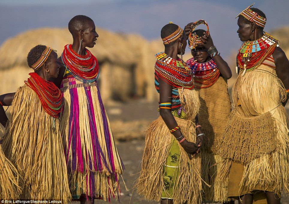 Tribal Outfit, Africa People, Kenya