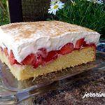 Erdbeer- Fanta- Kuchen - Aus meinem Kuchen und Tortenblog #breadrecipessweet