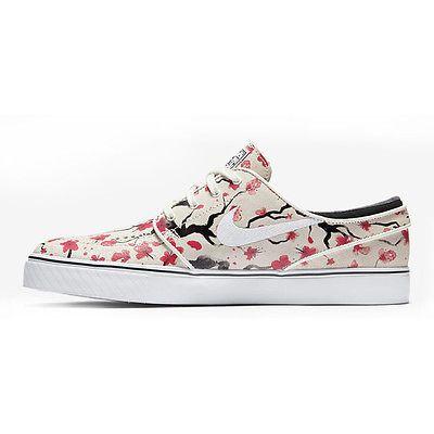014513b515683f Nike SB Zoom Stefan Janoski Elite Mens 725074-112 Cherry Blossom Shoes Size  4