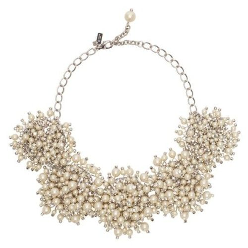 Kate Spade Jewelry This Necklace Made Of Faux Pearls Crystals And