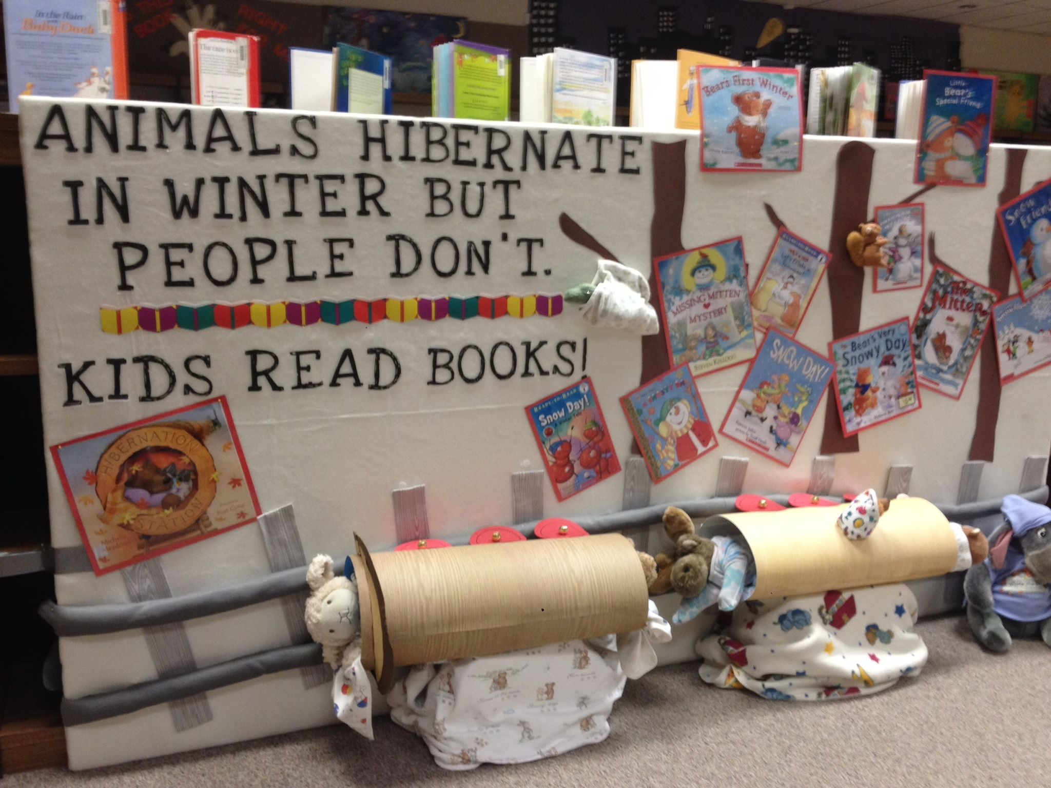 Hibernation Station Created By Sue Ellen Miller Library