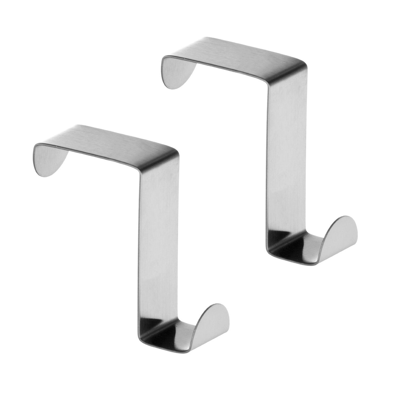 Premier Housewares 0509693 Stainless Steel Over Cupboard And Drawer Hooks    Set Of 2: Amazon