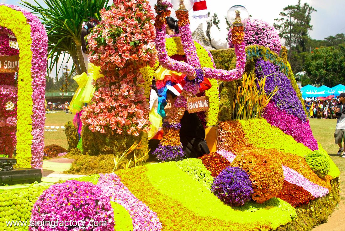 Baguio City Flower Festival or Panagbenga , Philippines