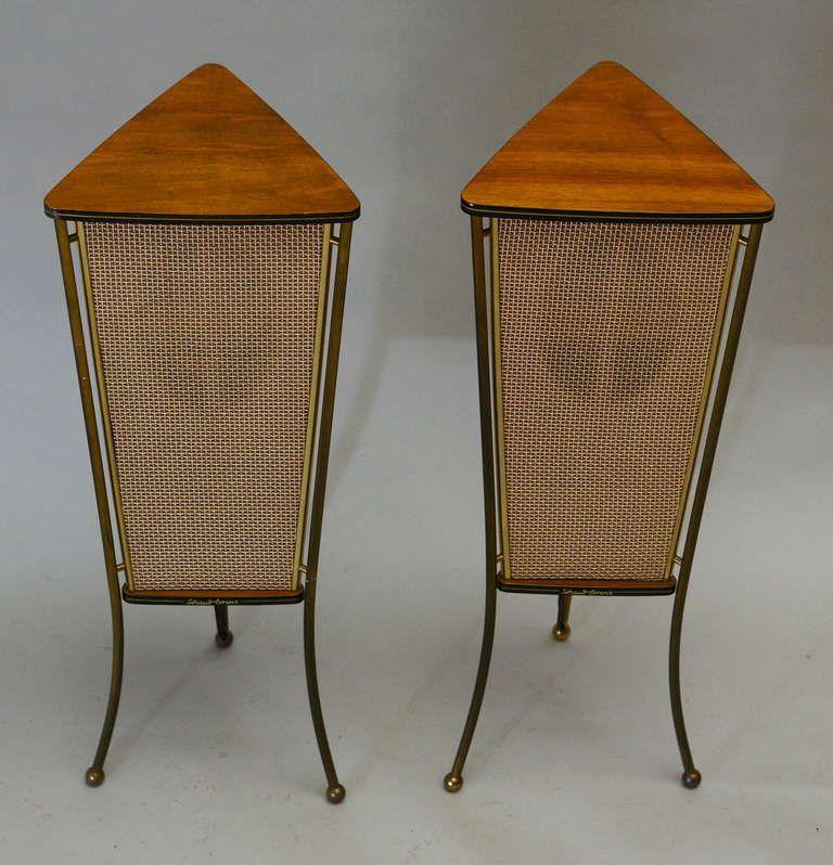mid century modern freak 1960s schaub lorenz walnutend. Black Bedroom Furniture Sets. Home Design Ideas