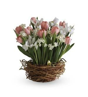 Tulip song hair pinterest songs tulip song send fresh flowers internationally as if a beautiful spring bouquet arranged in a nest like woven basket wasnt cause enough for celebration mightylinksfo Images