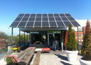 Really Like The Pv Panels As Awning Arrangement Smart Casa Solar Energia Solar Paneles Solares