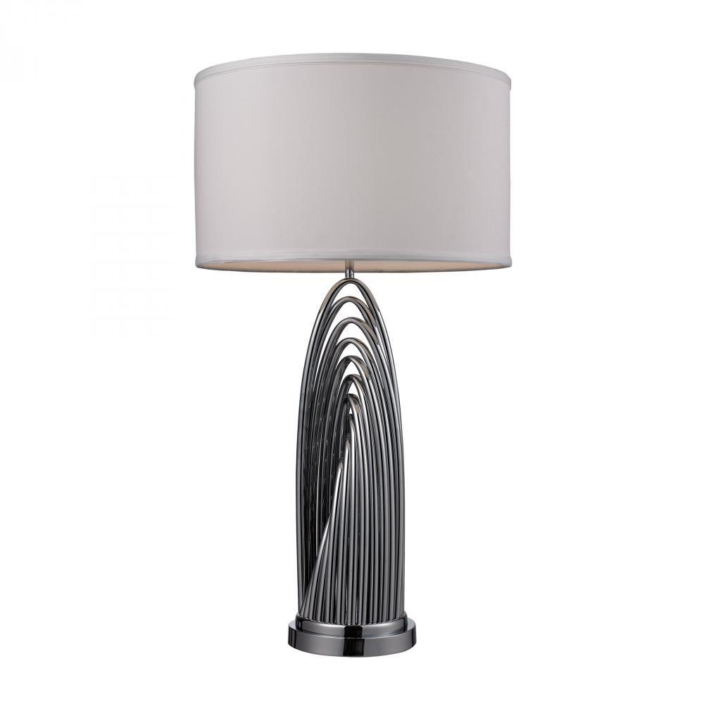 One Light Chrome Table Lamp : 6UUWQ | Annapolis Lighting - 30#, $478
