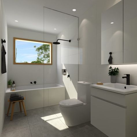 Photo of Complete Bathroom Design Ideas Online at The Blue Space