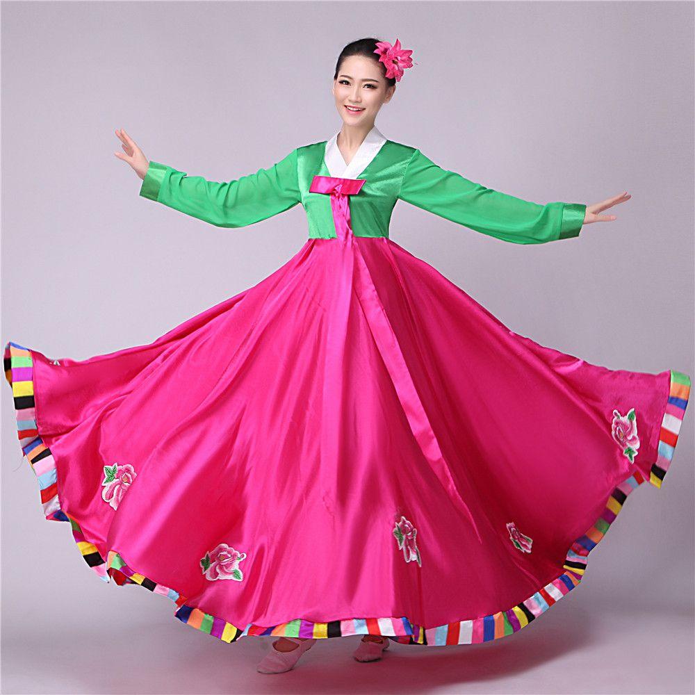 korean traditional dress hanbok korean national costume asian ...