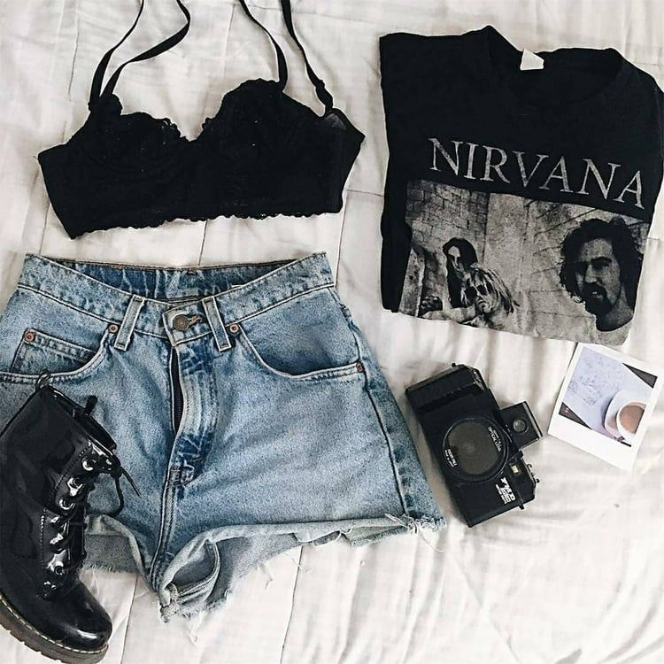 Edgy Summer Outfits, Indie Outfits
