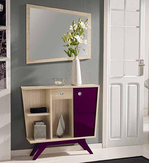 Mueble tv retro roger material: tablero de microparticulas mueble ...