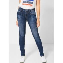 Slim Fit Jeans für Damen #denimstreetstyle