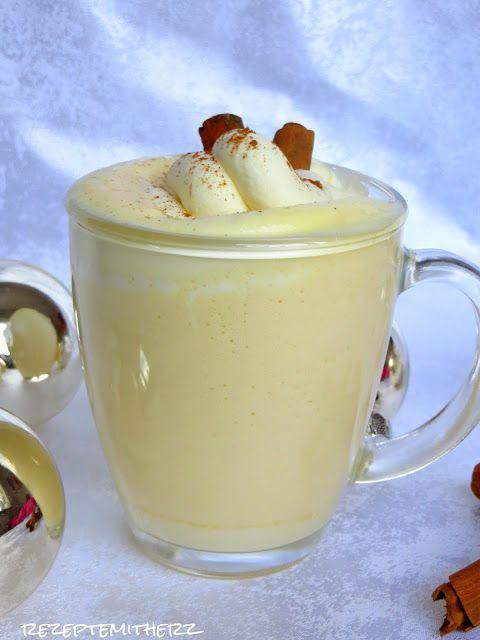 Eggnog, ein amerikanischer Eierlikör, ist ein typischer Weihnachtscocktail und gehört in den USA zum Fest einfach dazu.   Er ist cremig und... #butterbierrezept