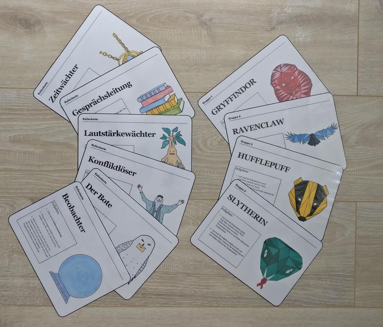Harry Potter Gruppenarbeit Tischkarten Schule Bullet Journal How To Make Make It Yourself