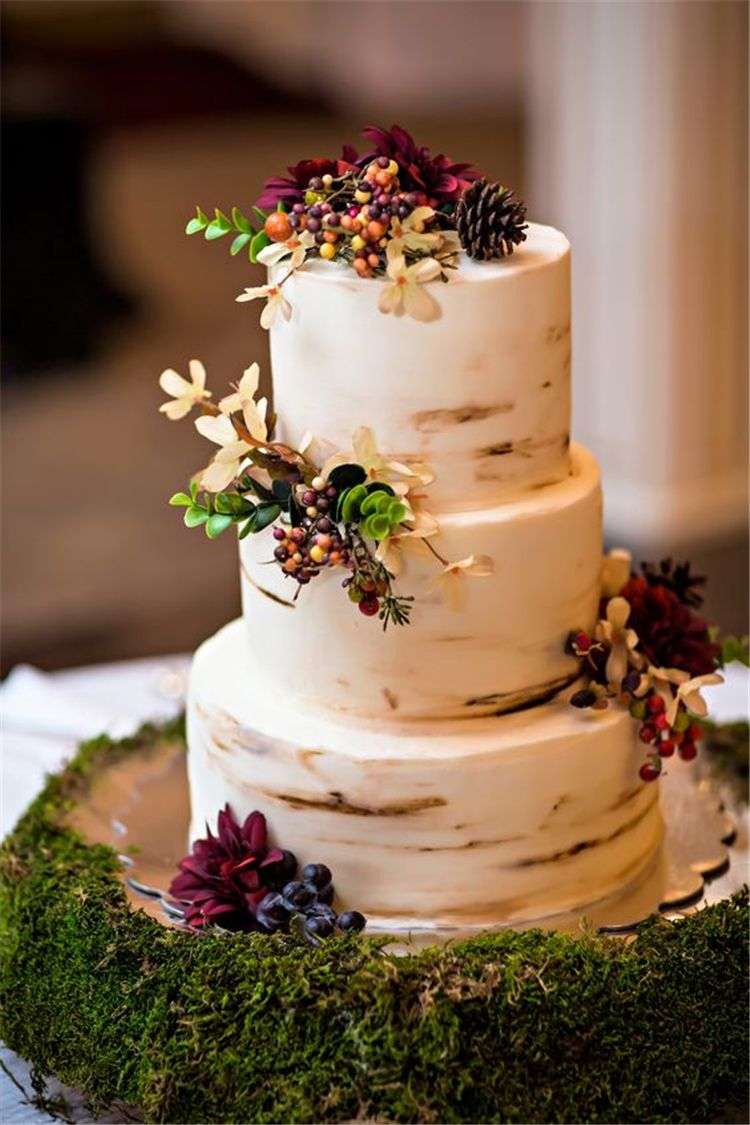 60 And Simple Rustic Wedding Cakes You Would Love