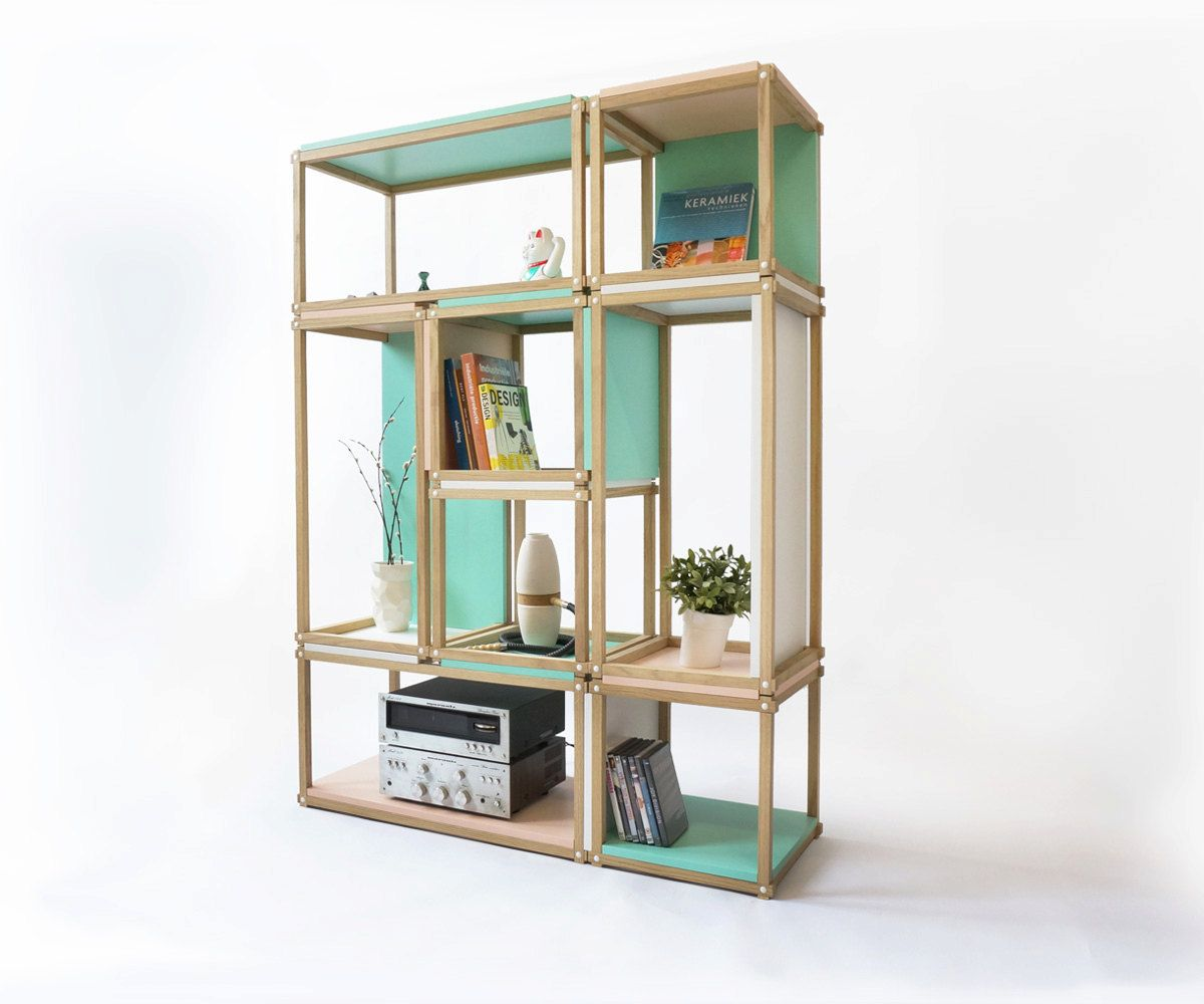 Good Stacks Shelving Furniture   Multi Function All Stackable Shelving   Open  Bookshelf   Bookcase  Stool