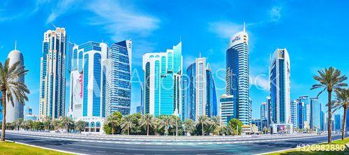 West Bay architecture, on Feb 13, 2018 in Doha, Qatar , #SPONSORED, #architecture, #Feb, #West, #Bay, #Doha #Ad