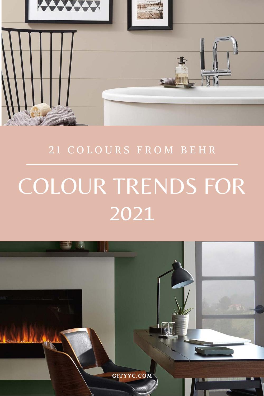 Colour trends for 2021   Trending paint colors, Behr colors, Paint trends