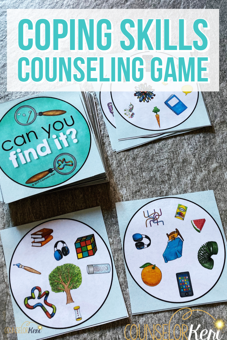 Coping Skills Counseling Game Finding Calming Strategies Activity Counseling Games Coping Skills Activities Coping Skills List
