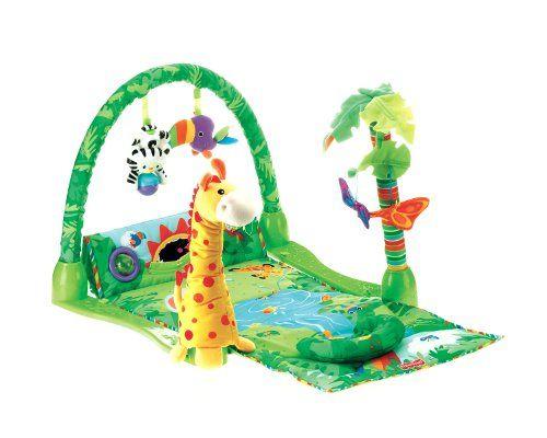 Fisher Price Rainforest 1 2 3 Musical Gym Fisher Price Http Www Amazon Com Dp B000jijpzy Ref Cm Sw R Pi Dp Rqkeub1nr6kr Tummy Time Toys Baby Gym Fisher Price