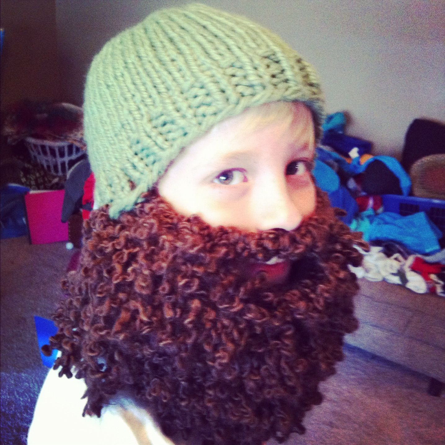 850d9c8f4dc More Duck Dynasty hats to follow for my other boys soon! No pattern just a  picture of a hat beard I made.