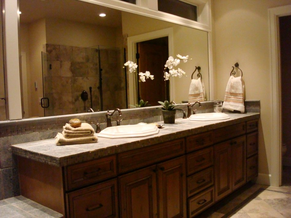 Master Bath Double Sink Remodel Of Master Bathroom Ideas