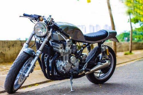 Harley Ironhead Sportster Cafe Racer By Faizal Yusop