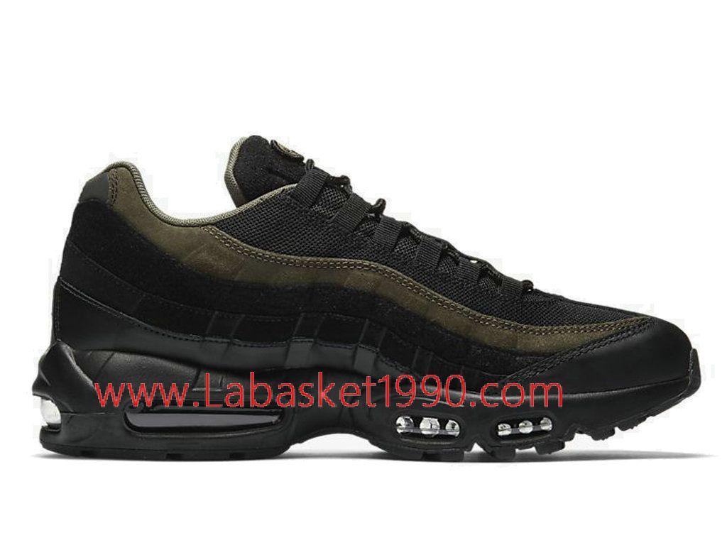 774e23eb55e1b Nike Air Max 95 HAL Black Khaki AH8444-001 Chaussures Nike 2018 Pas Cher  Pour
