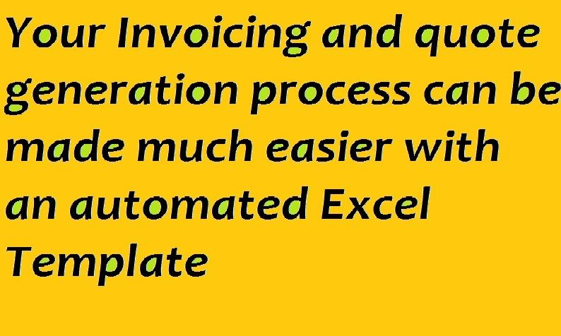 Create professional interactive templates in excel Template