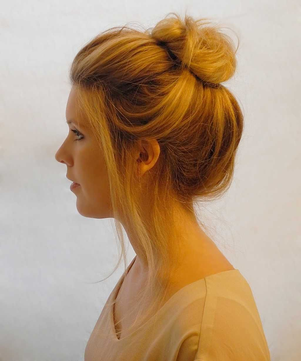 Everyday Bun Hairstyle For Round Face One1lady Com Hair Hairs Hairstyle Hairstyles Classy Hairstyles Bun Hairstyles Hairstyle