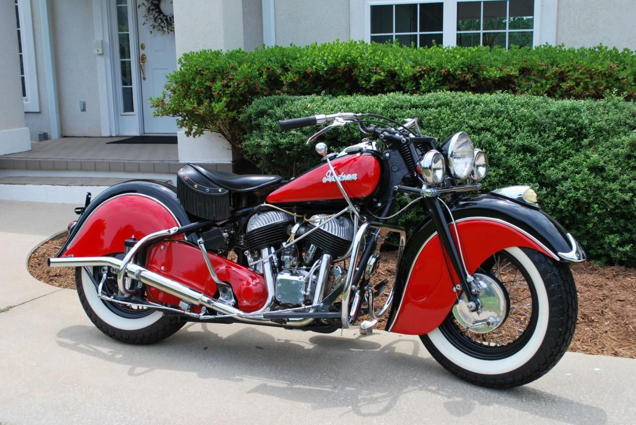 Indian Chief 1948, #Indian_Motorcycle