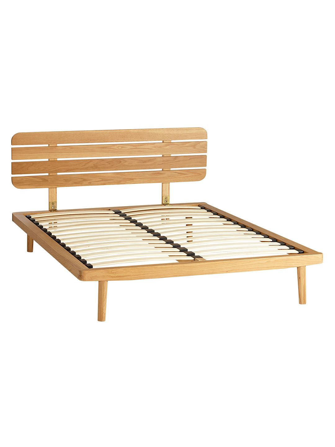 Best House By John Lewis Bow Slatted Headboard Bed Frame King 400 x 300