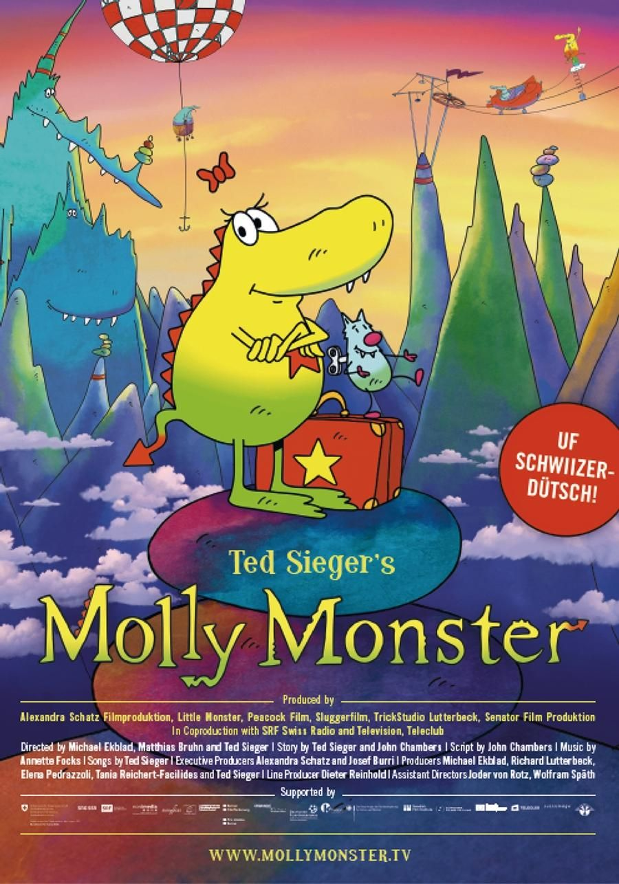 Molly Monster (animation, 2015, dir. Ted Sieger)