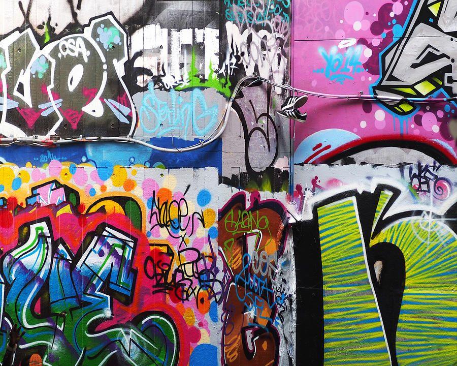 London skate park abstract art print colorful graffiti and a london skate park abstract art print colorful graffiti and a pair of black and white altavistaventures Images