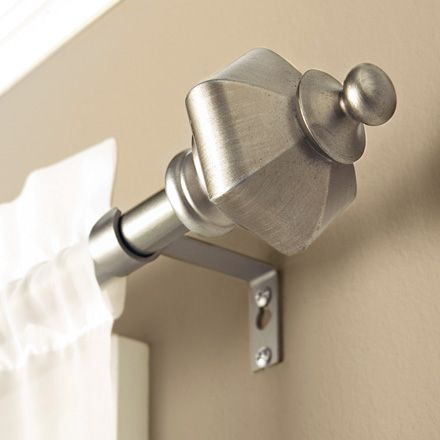 Add Classic Charm To Any Room In Your Home With The Extendable Bhg Amboy Curtain Rod Home And Garden Better Homes And Gardens Beautiful Curtain Rod