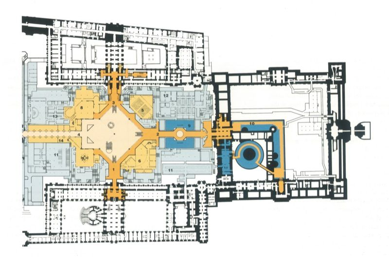 louvre floor plan - Google Search