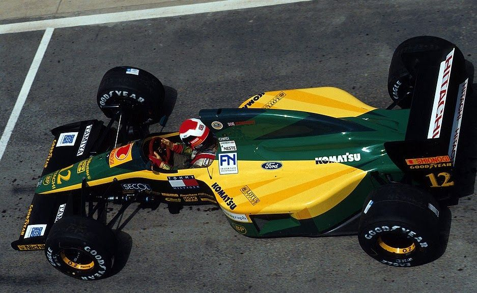 Image result for 1992 lotus 102d